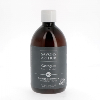 Savon douche bio Garrigue, 500 mL