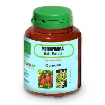Muira Puama Bio - pot 50 g