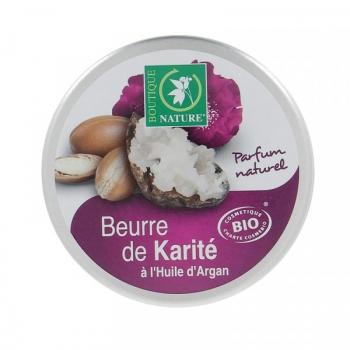 Beurre de Karité Bio - A l'huile d'argan - 100ml