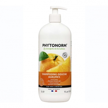 Shampooing-Douche Agrumes 1L Bio - Phytonorm