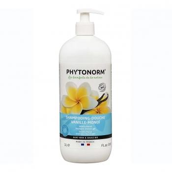 Shampooing-Douche Vanille-Monoï 1L Bio - Phytonorm