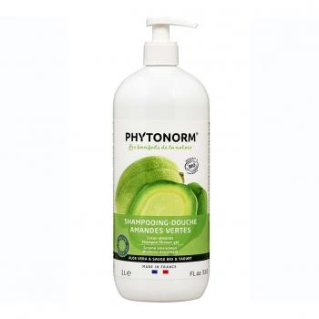 Shampooing-Douche Amandes Vertes 1L Bio - Phytonorm