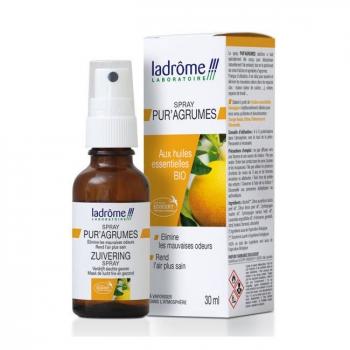 LADRÔME - Spray d'ambiance Pur'Agrumes aux huiles essentielles bio 30ml