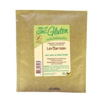 Lev'sarrasin pour pains et pâtes levées Levain de sarrasin bio & sans gluten