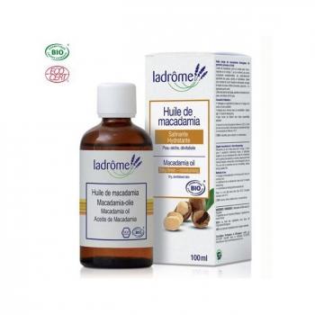 LADRÔME - Huile de Macadamia bio - Satinante 100ml
