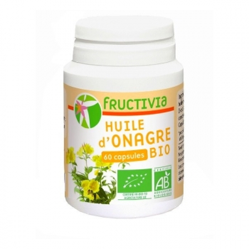 Onagre Bio huile - 60 capsules de 500 mg