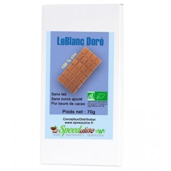 Chocolat Le Blanc Doré Bio
