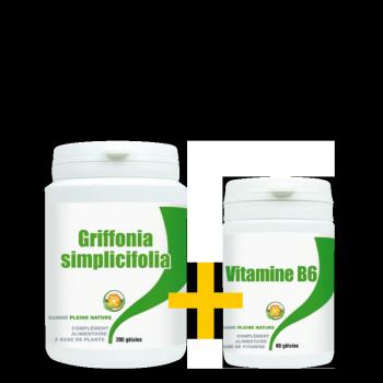 Pack Griffonia + Vitamine B6