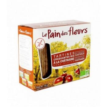 Tartines craquantes à la châtaigne sans gluten bio 150 g