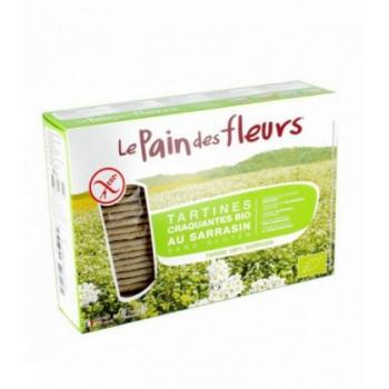 LE PAIN DES FLEURS - Tartines craquantes au sarrasin sans gluten bio 300 g