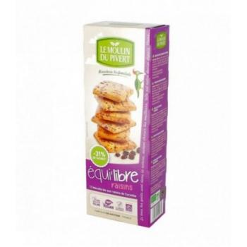 LE MOULIN DU PIVERT - Biscuits bio Equilibre raisins