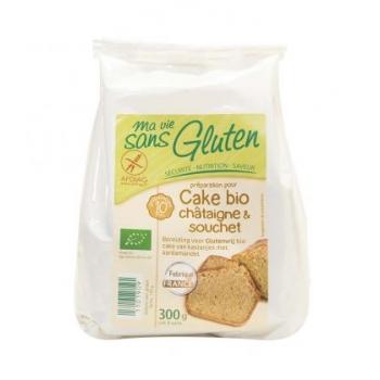 MA VIE SANS GLUTEN - Préparation pour cake bio châtaigne & souchet bio & sans gluten