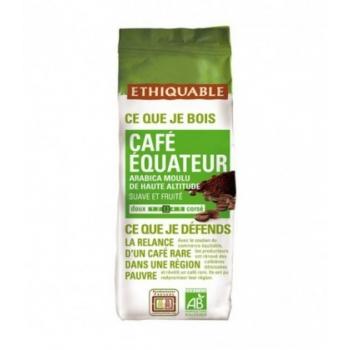 ETHIQUABLE - Café équateur MOULU bio & équitable - 250 g