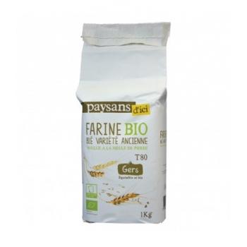 PAYSANS D'ICI - Farine de Touselle T80 bio & équitable