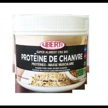 Poudre de protéine de chanvre bio