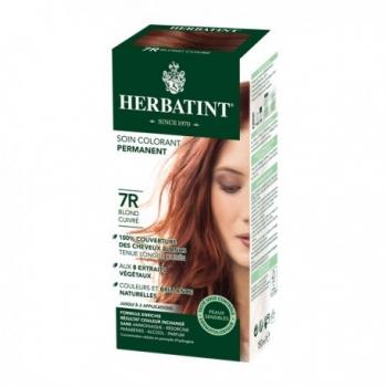 Coloration Cheveux Naturelle 7R Blond Cuivré - 150ml - Herbatint