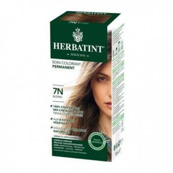 Coloration Cheveux Naturelle 7N Blond - 150ml - Herbatint