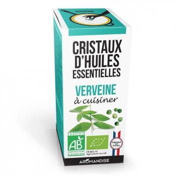 AROMANDISE - Cristaux d'huiles essentielles Verveine bio 10g