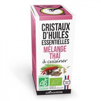 AROMANDISE - Cristaux d'huiles essentielles Mélange Thaï bio 10g