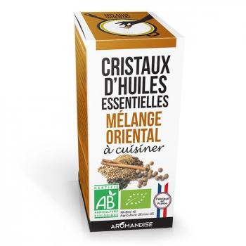 AROMANDISE - Cristaux d'huiles essentielles Mélange Oriental bio 10g