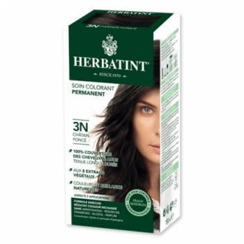 Coloration Cheveux Naturelle 3N Chatain Foncé - 150ml - Herbatint
