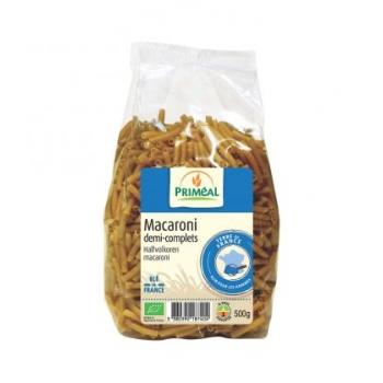 PRIMÉAL - Macaroni demi-complets bio