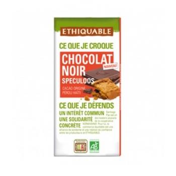 ETHIQUABLE - Chocolat Noir Spéculoos