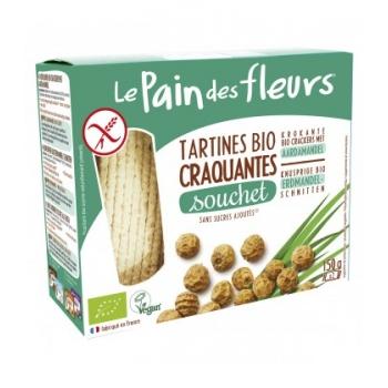 LE PAIN DES FLEURS - Tartines craquantes au souchet sans gluten bio