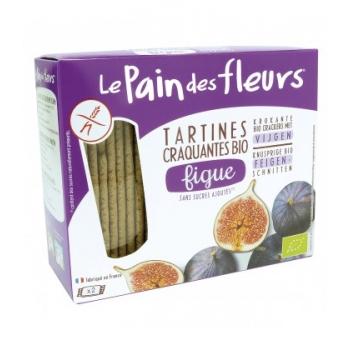 LE PAIN DES FLEURS - Tartines craquantes à la figue sans gluten bio