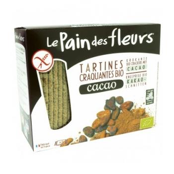LE PAIN DES FLEURS - Tartines craquantes au cacao sans gluten bio
