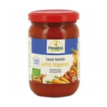 PRIMÉAL - Sauce tomate cuisinée aux petits légumes
