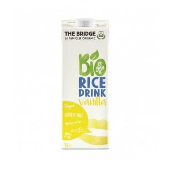 THE BRIDGE - Boisson végétale au Riz Vanille bio & sans gluten