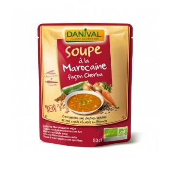 DANIVAL - Soupe bio à la Marocaine façon Chorba
