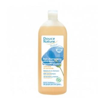 Bain shampoing ultra doux sans sulfates, hypoallergénique