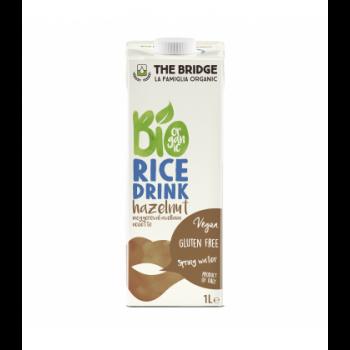 THE BRIDGE - Boisson végétale au Riz Noisette bio & sans gluten