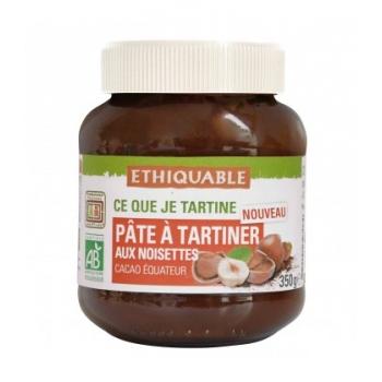 ETHIQUABLE - Pâte à tartiner aux noisettes bio & équitable