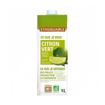 ETHIQUABLE - Nectar de Citron Vert bio & équitable