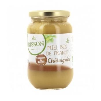 BISSON - Miel de châtaigner bio de France, 500 g