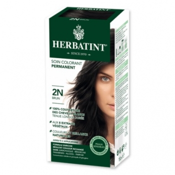 Coloration Cheveux Naturelle 2N Brun - 150ml - Herbatint