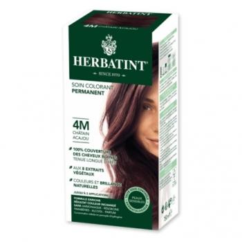 Coloration Cheveux Naturelle 4M Châtain Acajou - 150ml - Herbatint