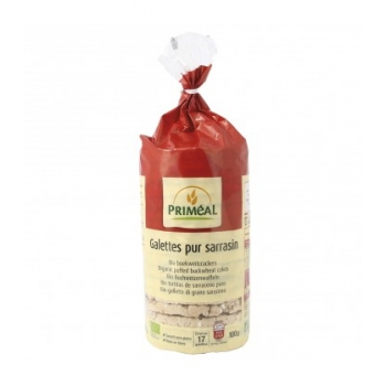 PRIMÉAL - Galettes de Sarrasin bio et sans gluten