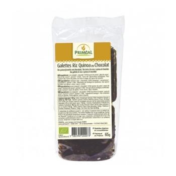 PRIMÉAL - Galettes de Riz Quinoa au Chocolat noir bio