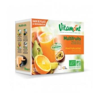 VITAMONT - Jus Multifruits bio en cubi