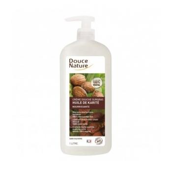 DOUCE NATURE Crème douche surgras nourrissante à l'huile de karité bio
