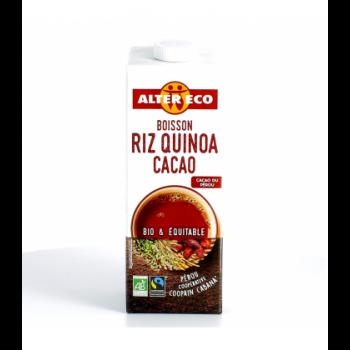 ALTER ECO - Boisson végétale au riz quinoa cacao bio & équitable