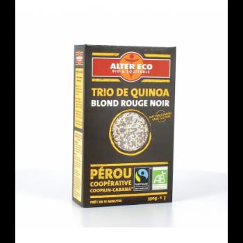 ALTER ECO - Trio de quinoa blond rouge noir bio & équitable