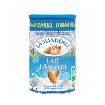 LA MANDORLE - Lait d'Amande en poudre bio & vegan - Format Familial