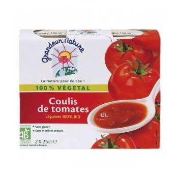 Coulis de tomates bio & sans gluten