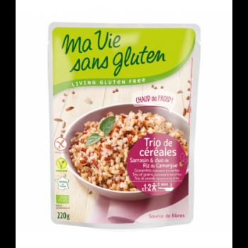 Trio de céréales bio & sans gluten