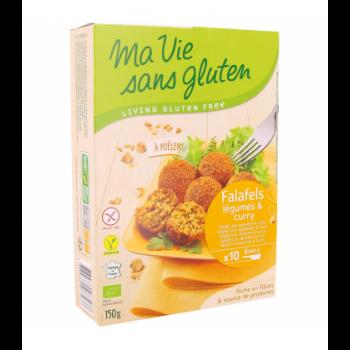MA VIE SANS GLUTEN – Falafels légumes et curry bio & sans gluten
